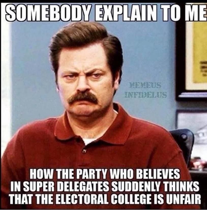 electoral college meme