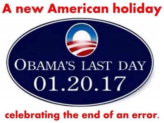new American holiday: Obama's Last Day